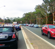 CBD peak-hour charge solution for Warringah Road congestion