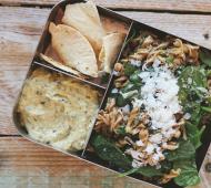 Pasta Salad with Olive and Walnut Pesto