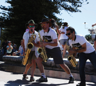 Manly Jazz swings into action