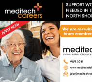 Support Workers Needed on the North Shore & Northern Beaches