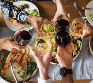 Wine with food dos and don'ts
