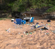 Council combats trashed beaches