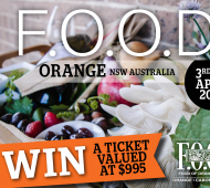 WIN: 3 Days at the Orange F.O.O.D Week Festival Valued at $995