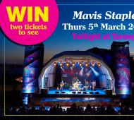 WIN: Two Tickets to see Mavis Staples Twilight at Taronga