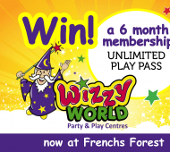 WIN: 6 Month Unlimited Play Pass to Wizzy World