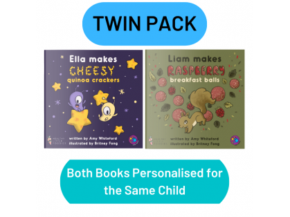 Twin pack of recipe storybooks