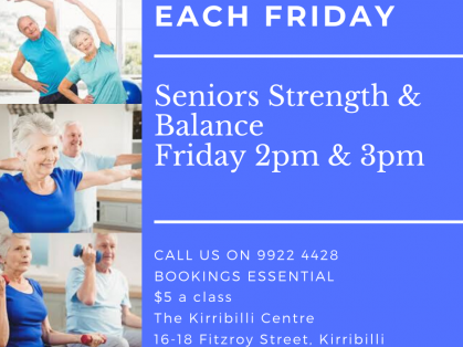 Senior Strength & Balance Classes