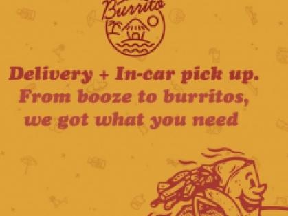 Welcome Beach Burrito Delivery⠀⠀