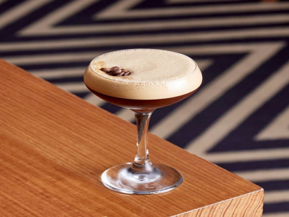 $10 Espresso Martinis Every Saturday