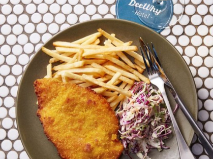 $15 Schnitzel & Chips at Dee Why Hotel
