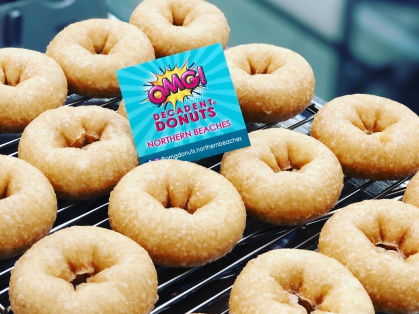 16 Decadent Donuts for the Price of 12, Think Local Deal, OMG Donuts