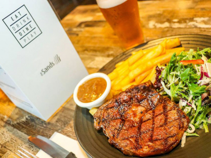 $15 Steak & Chips Every Wednesday
