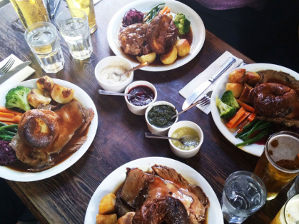 $15 Roast Meal Special Every Monday
