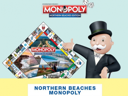 Northern Beaches Monopoly at the Diggers