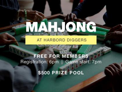 Friday Mahjong at the Harbord Diggers
