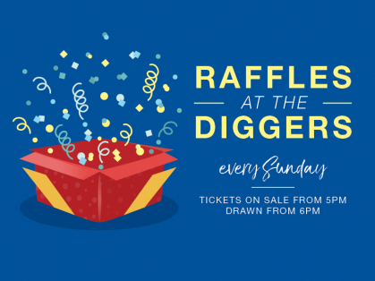 Sunday Raffles at the Harbord Diggers