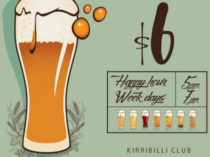 Craft Beer For Only $6 Monday To Friday