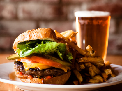 Burgers & 1 Litre of Beer for 2 Only $39, Think Local Deal, Austrian Beer Bar and Restaurant