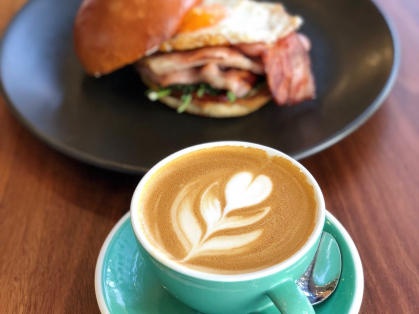 $12 Bacon & Egg Roll with Free Coffee