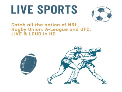 Daily Live Sports at The Belrose Hotel!