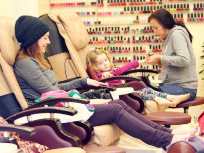 Mum & Daughter Nail Salon Pack Only $99!