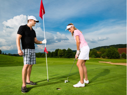 We're Open for Golf: Golf for 2 $29, Think Local Deal, Castle Cove Golf Club