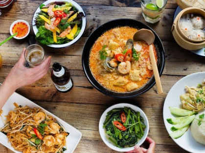 3 Course Asian Feast for 2 Only $48, Think Local Deal, Oceanviews Vietnamese