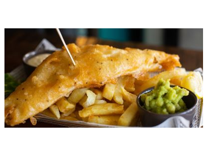 2-4-1 Fish and Chips only $25