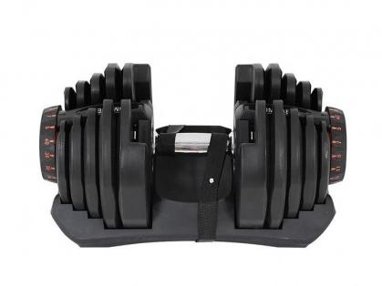 2 x 40kg Adjustable Dumbells, Save $250