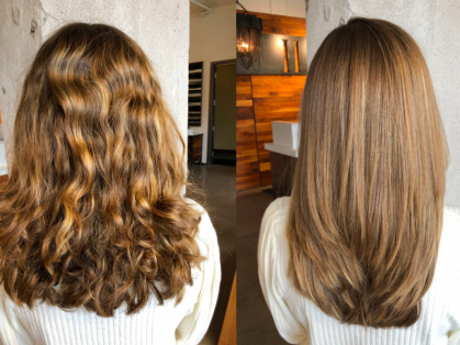 50% off Smooth, Straight Hair for Winter, Think Local Deal, Le Hair Chateau