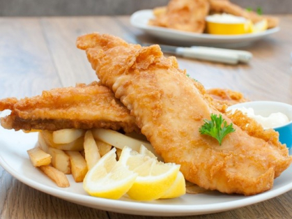 Fish and Chips for 2 by the Beach $35, Think Local Deal, Palm Beach Golf Club
