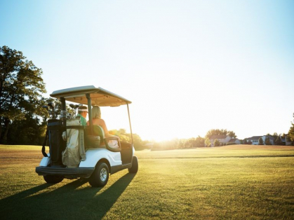 Only $49 for Golf, Cart Hire & 2 Beers!