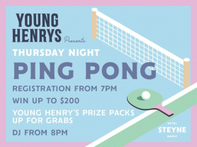 Thursday Night Ping Pong