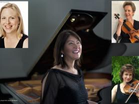 Linden Quartet Grace Kim Marina Marsden Justine Marsden Kristy Conrau