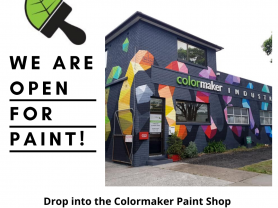 Drop into Colormaker Industries at 44 Orchard Road, Brookvale for all your Interior & Exterior house paints, waterproofing membranes, LUXAPOOL swimming pool paints & PERMASET textile screen printing inks!