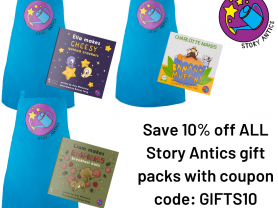 discount for Story Antics gift packs