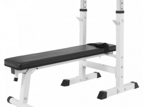 Weight Bench with Bar Bell Rack 30% off
