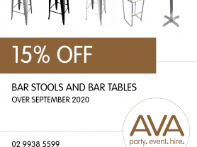 bar stools for hire bar tables for hire