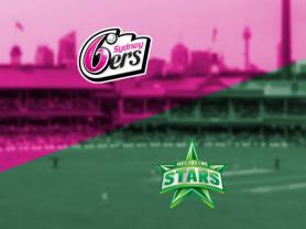BBL: Sydney Sixers v Melbourne Stars