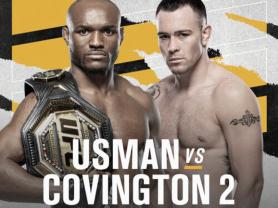 Watch Usman v Covington 2