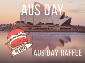 Australia Day Raffle at Manly Leagues