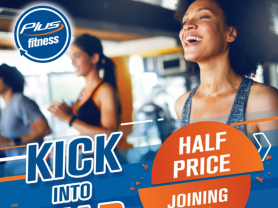 Kick Into Gear Half Price Joining Fee