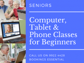 Seniors Computer, Tablet & Phone Classes