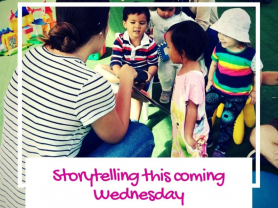 Storytelling Every Wednesday at TKC