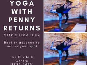 Yoga with Penny at The Kirribilli Centre
