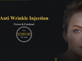 Anti Wrinkle Injection Frown & Forehead