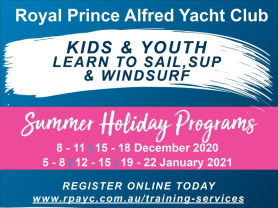Kids Learn To Sail Course at RPAYC