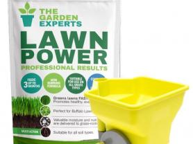 Free Fertiliser Spreader with Lawn Power