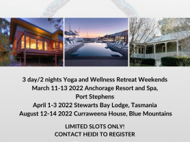 Yoga & Wellness Retreats 2022