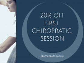 20% Off Initial Chiropractic Session